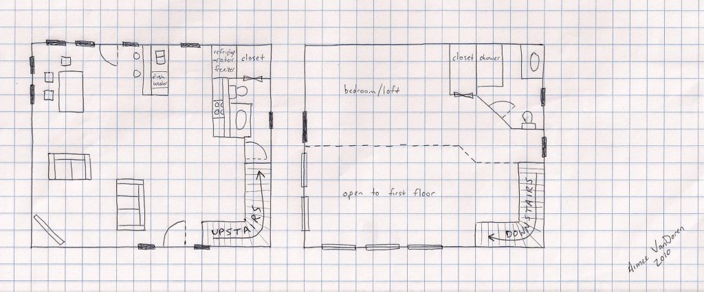 Hand Drawn Tiny Home