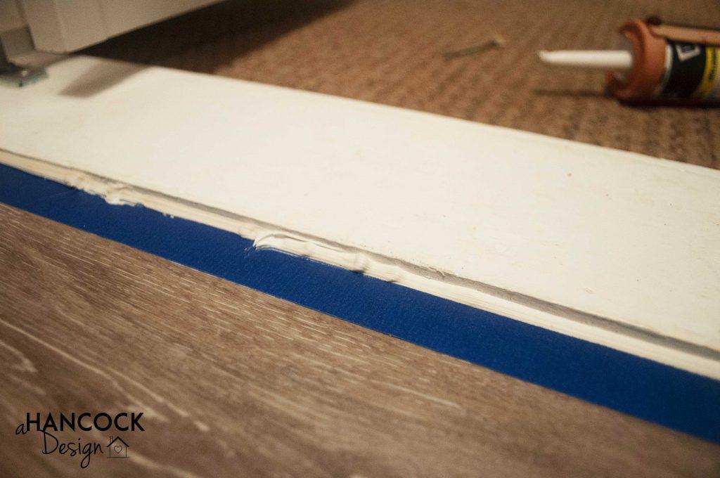 Tape Perfect Caulk Lines
