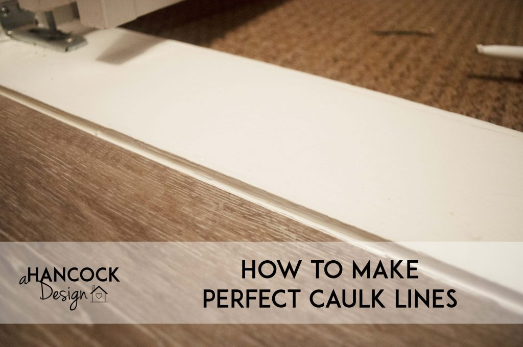 Make Perfect Caulk Lines