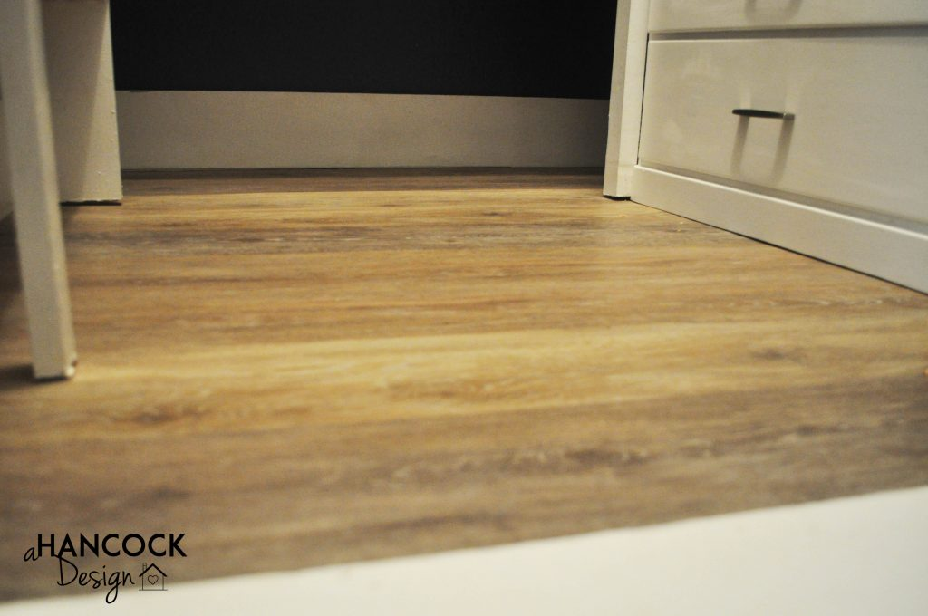 Luxury plank vinyl flooring