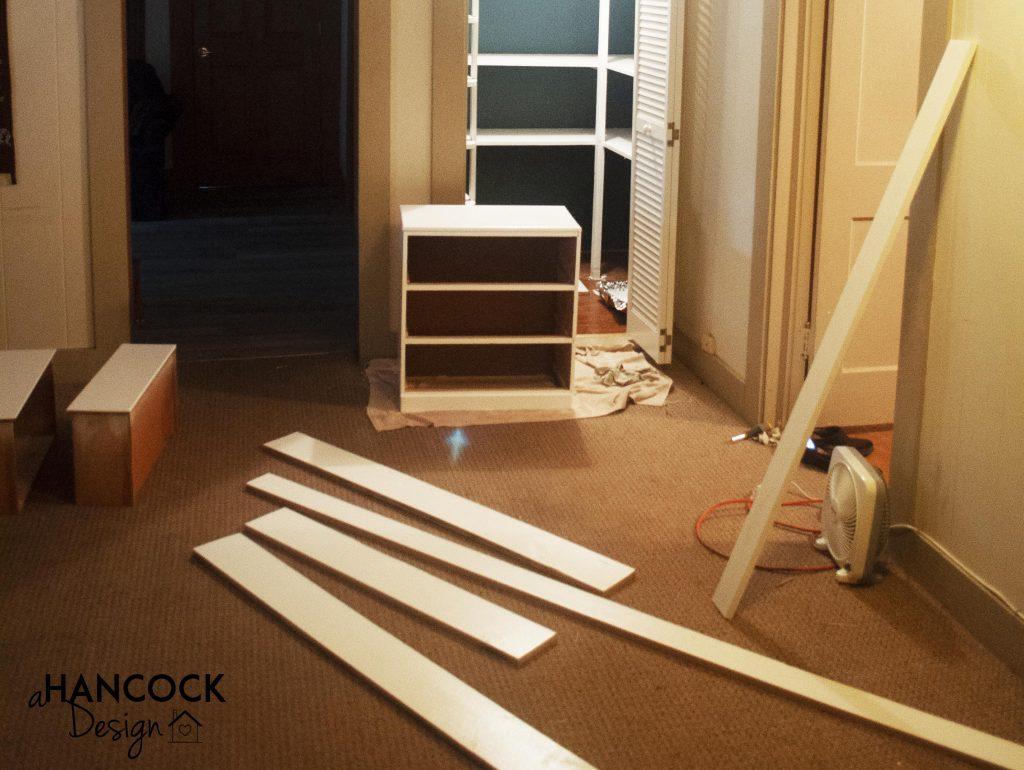 Pantry remodel progress