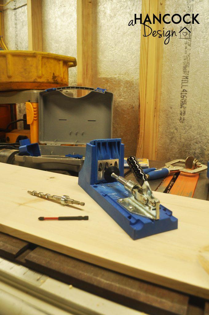 Kreg Jig components