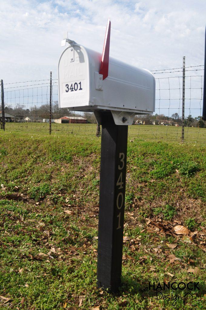 Mailbox repainted fresh