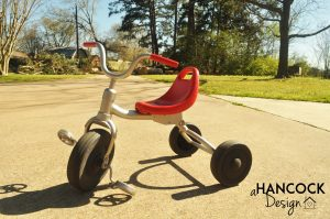 Tricycle repainted