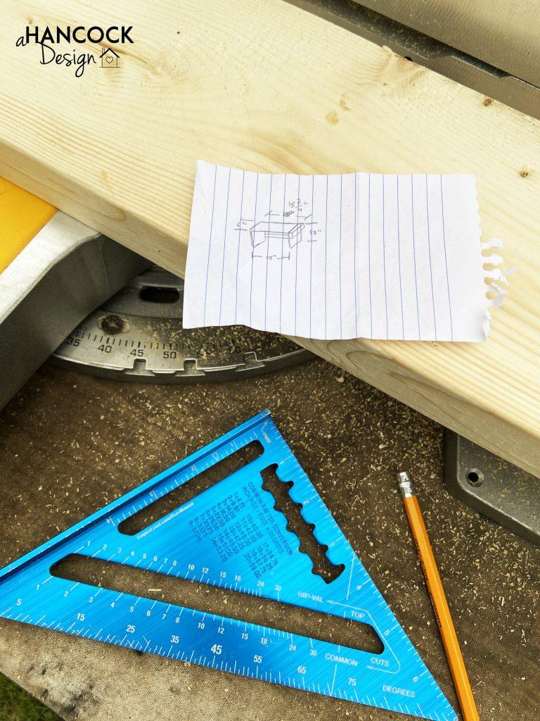 paper building plan