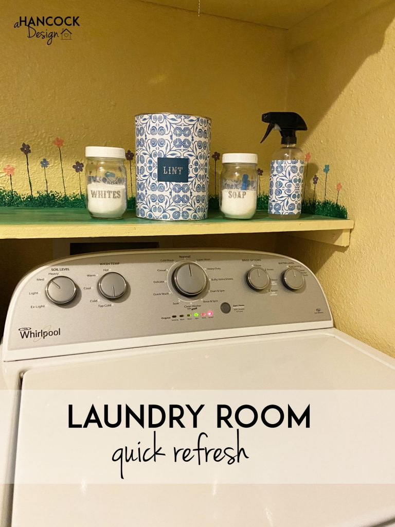 laundry items makeover
