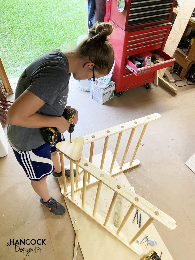 montessori pikler triangle diy dewalt drill