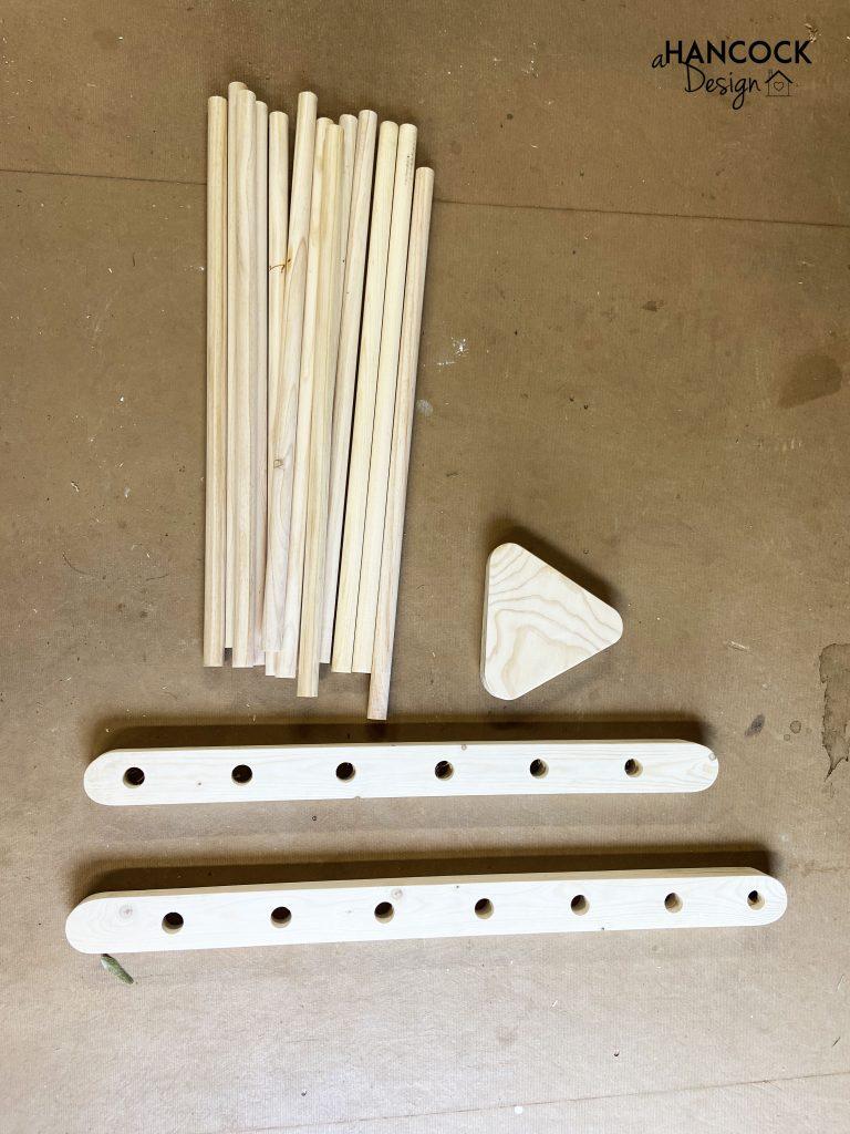 montessori pikler triangle diy